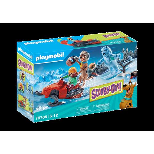 Playmobil SCOOBY-DOO 70706 Περιπέτεια με τον Snow Ghost - 2103