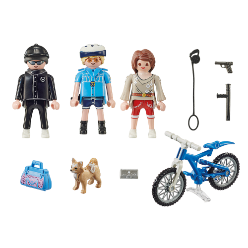 Playmobil City Action 70573 Αστυνομικός με ποδήλατο και πορτοφολάς - 2106