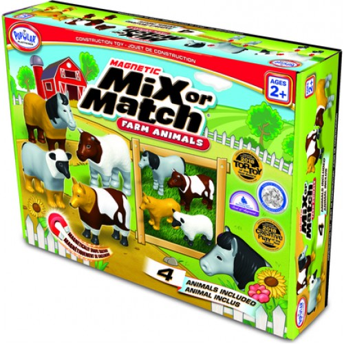 POPULAR PLAYTHINGS ΖΩΑ ΦΑΡΜΑΣ MIX OR MATCH 62001 - 1671